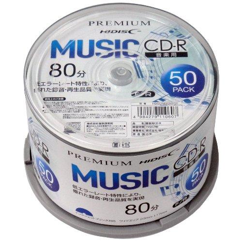 音楽用CD-Rを買ってみた(HIDISC PREMIUM)
