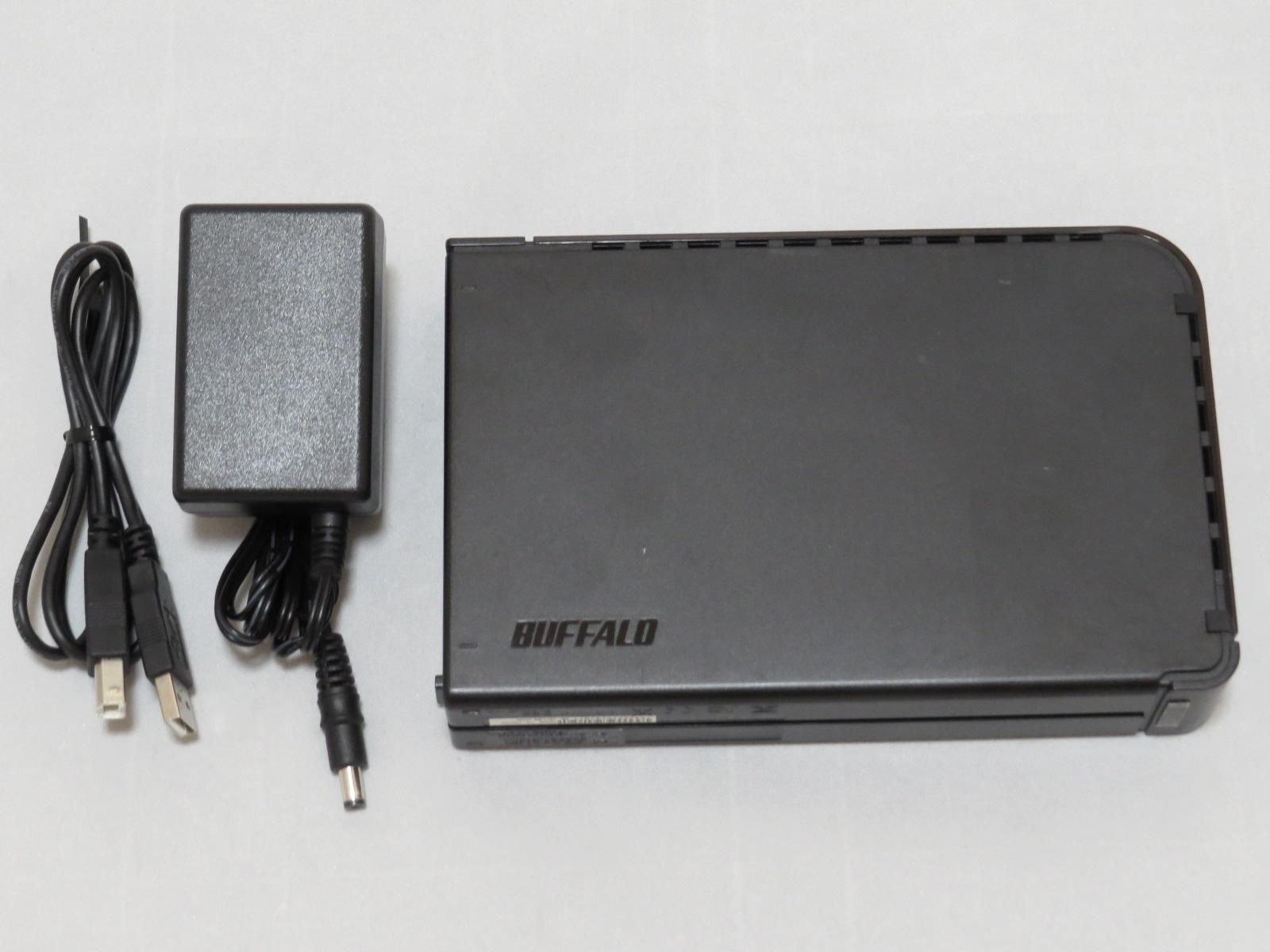 中古の外付け2TBHDD(BUFFALO_HD-LB2.0TU2)を買ってみた。