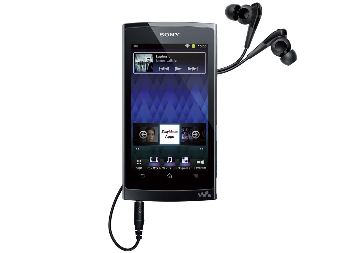 通勤、通学、出張のお供に(Sony walkman NW-Z1070)