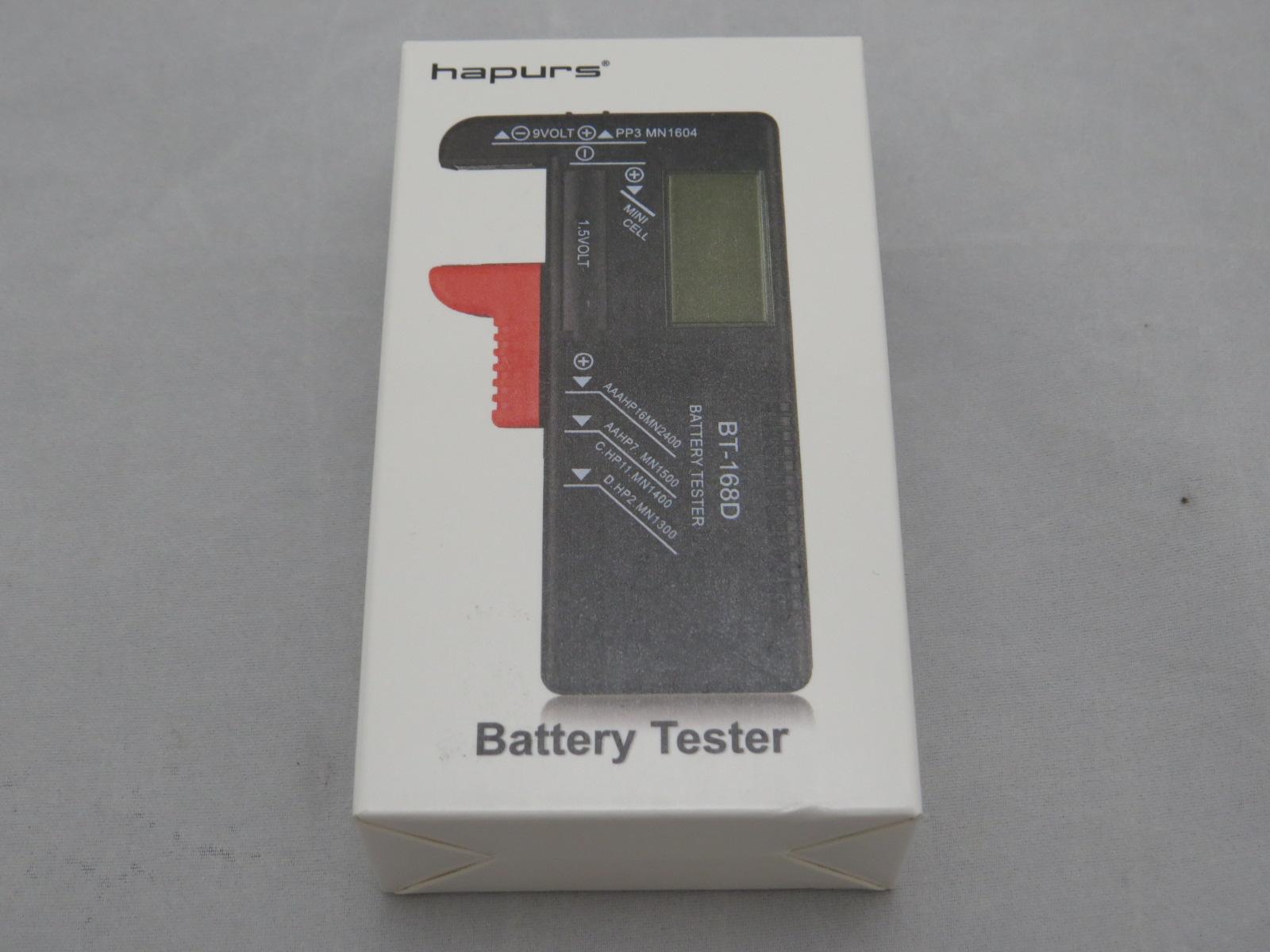Hapurs(BT-168D) バッテリーテスターを購入してみた。