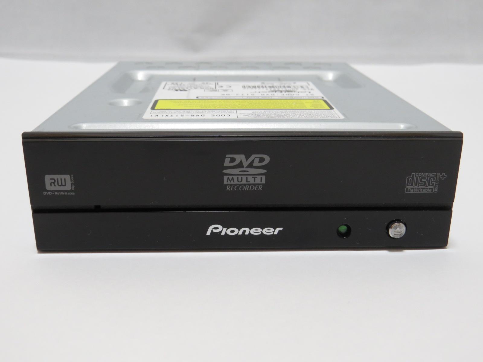 ジャンクなDVDドライブ(PIONEER DVR-S17J-BK)をゲット