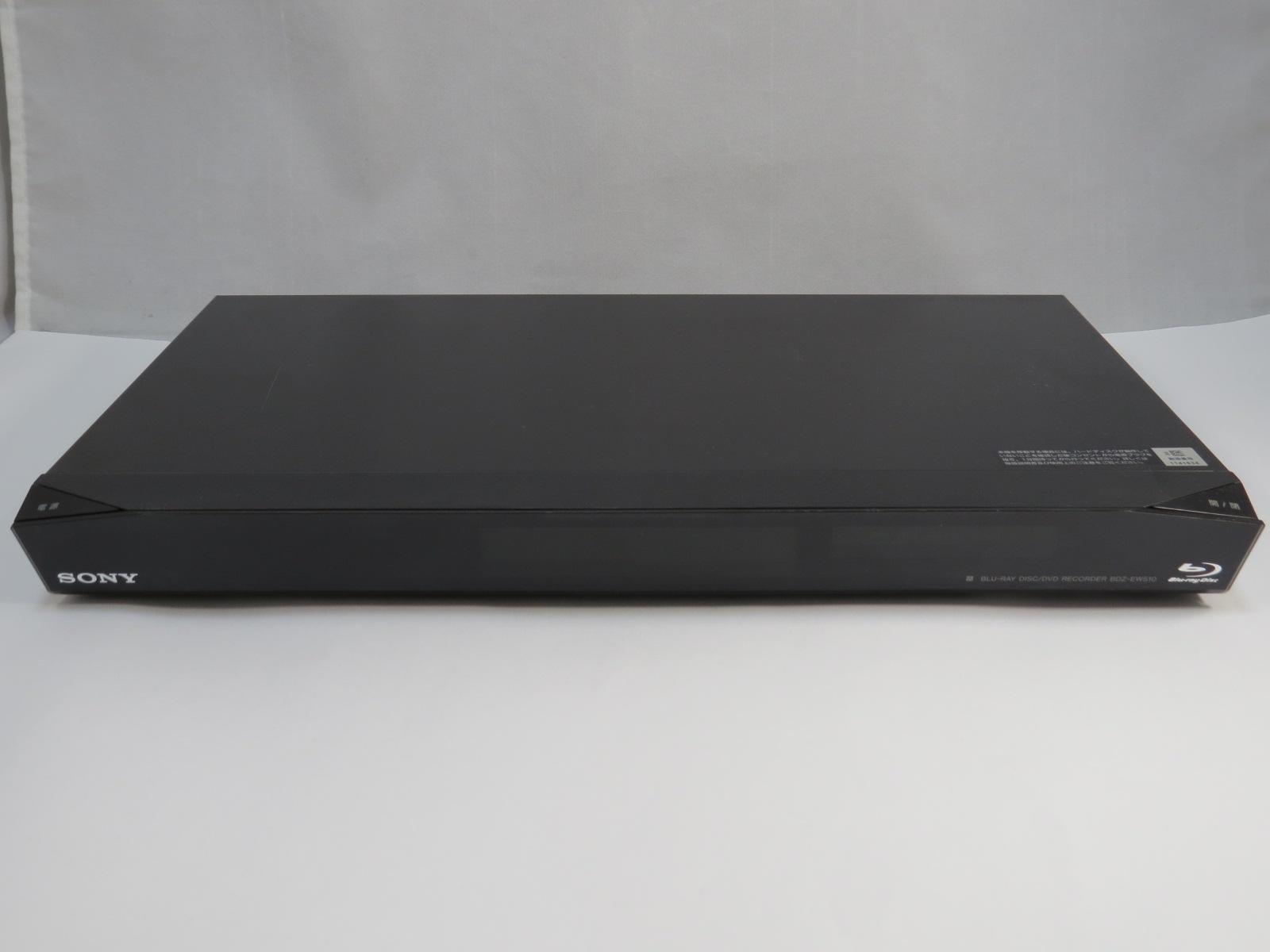 SonyブルーレイレコーダーBDZ-EW510を分解してみた。