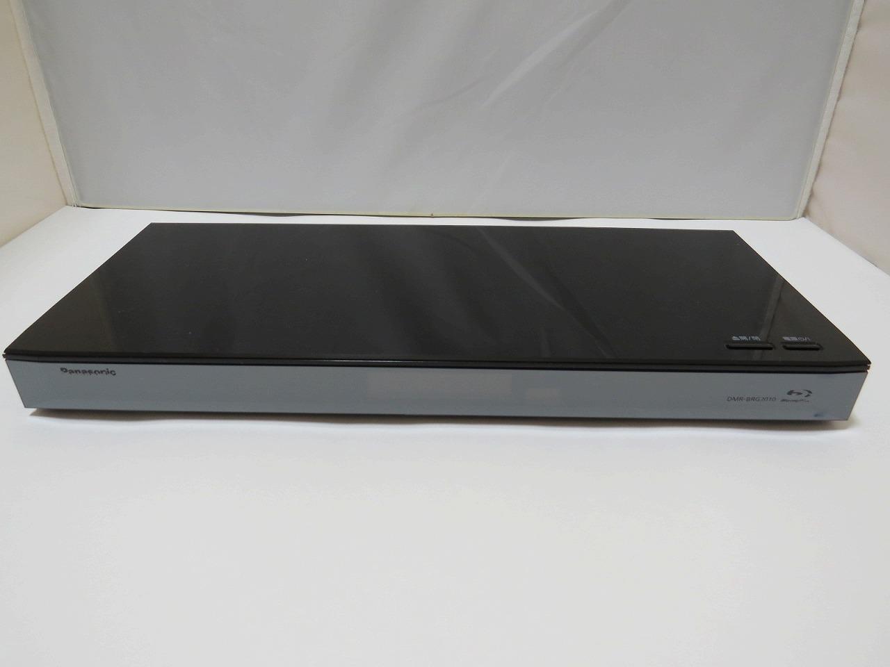Panasonic DMR-BRG2010の中古を買ってみた。