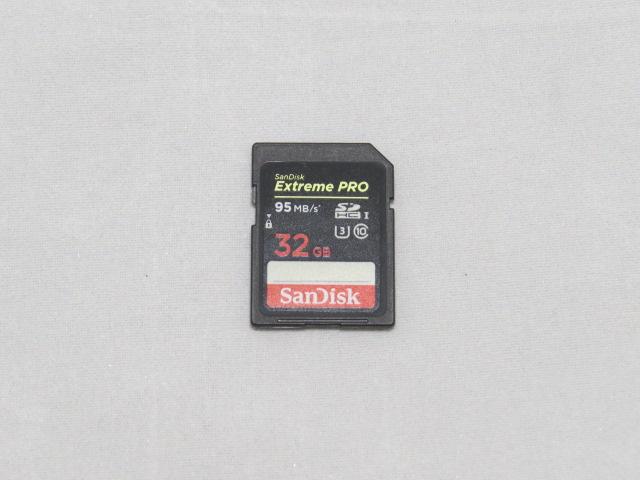 SanDisk Extream PRO32Gを手に入れたのでベンチしてみた。