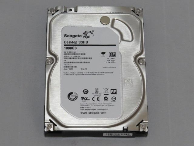 Seagete SSHD(ST1000DX001) 1TBを買ってみた