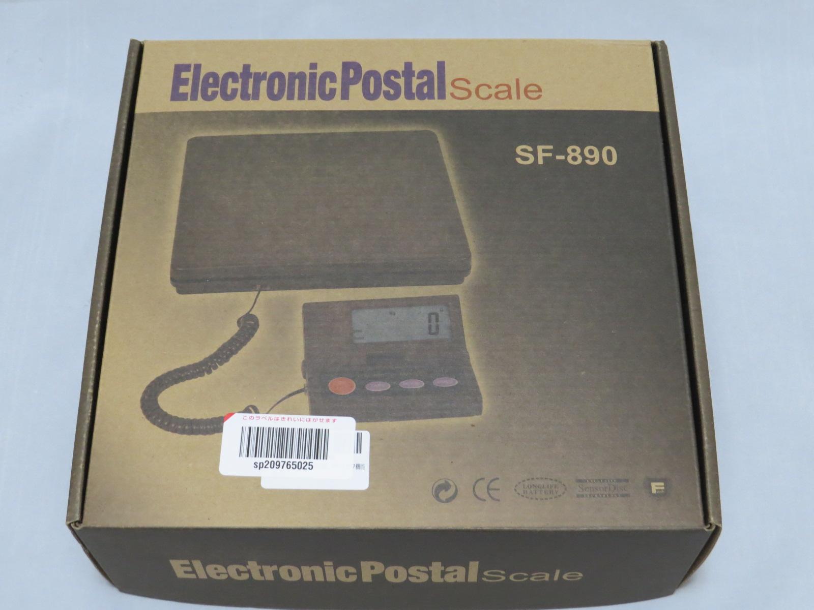 デジタルはかりを買ってみた(Electronic Postal  Scale SF-890)