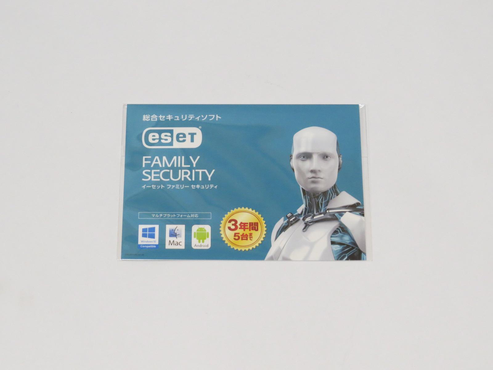 ESET ファミリー セキュリティを買ってみた